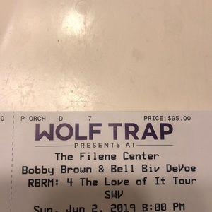 Bell Biv Devoe SWV Concert Tickets